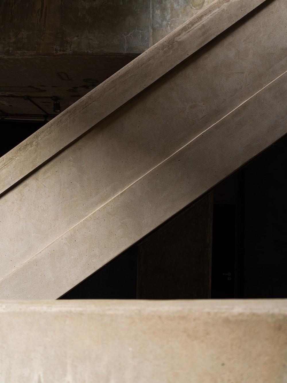 white concrete staircase during daytime