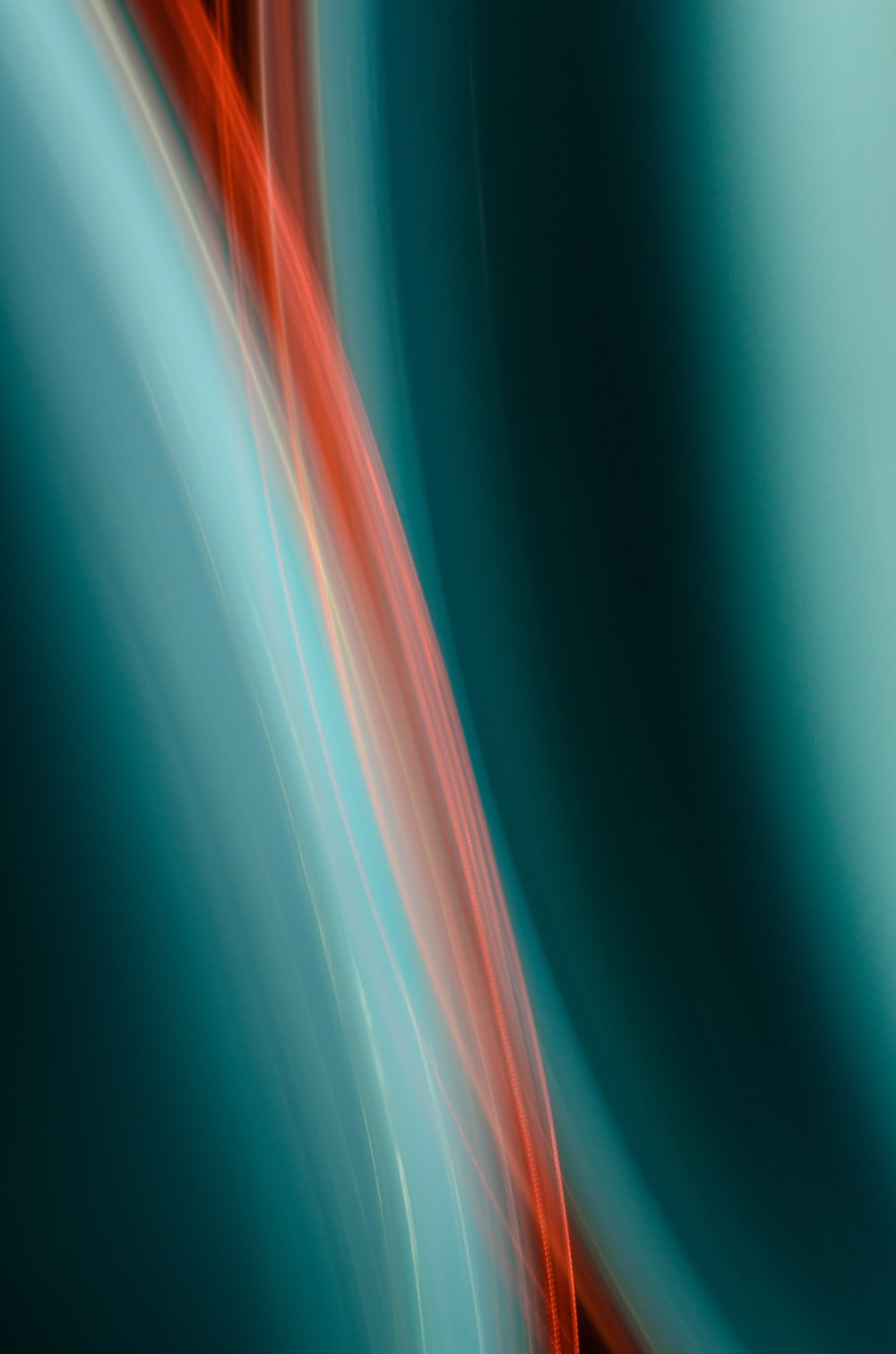 red and blue light digital wallpaper