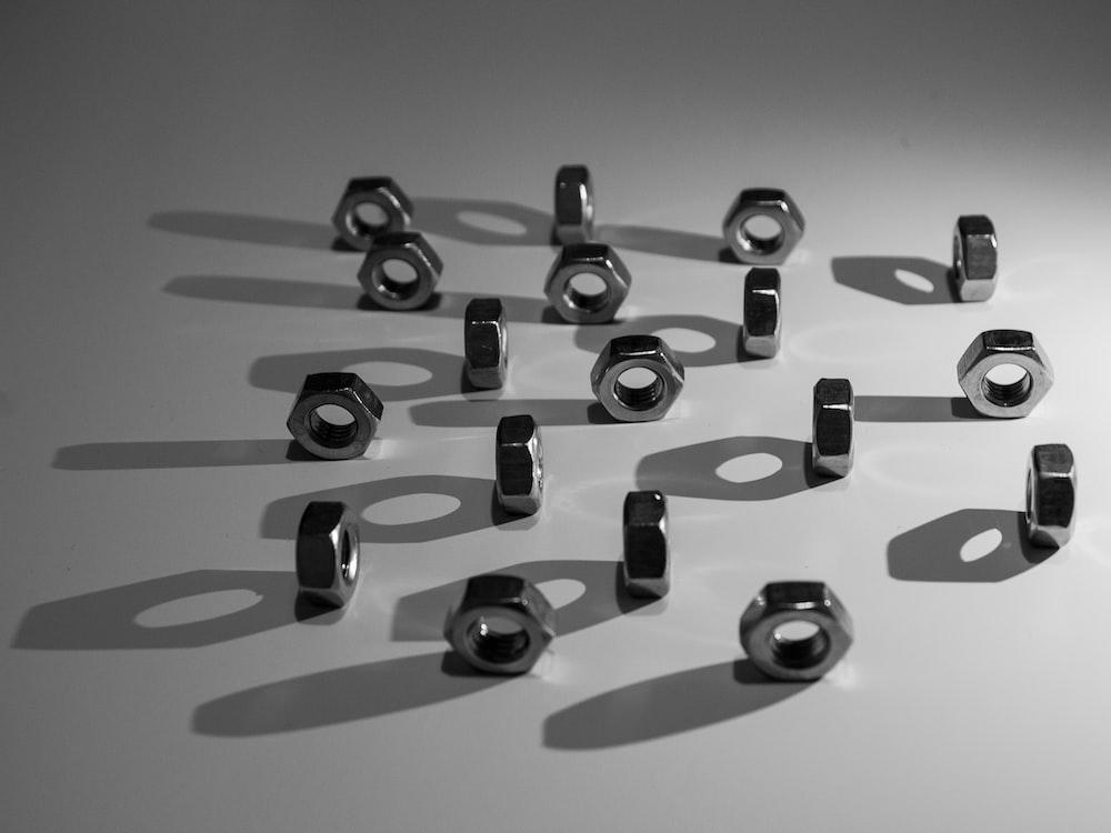 black and white plastic tools