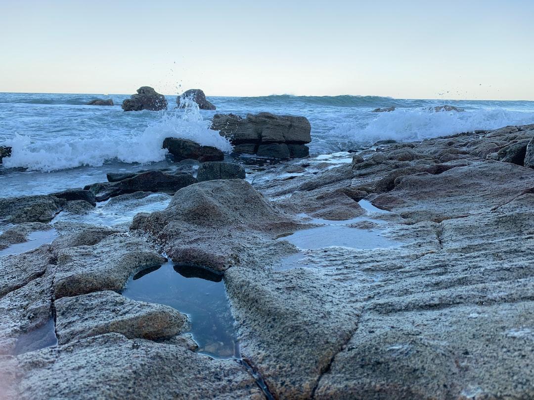 rocky-coastline ... photo