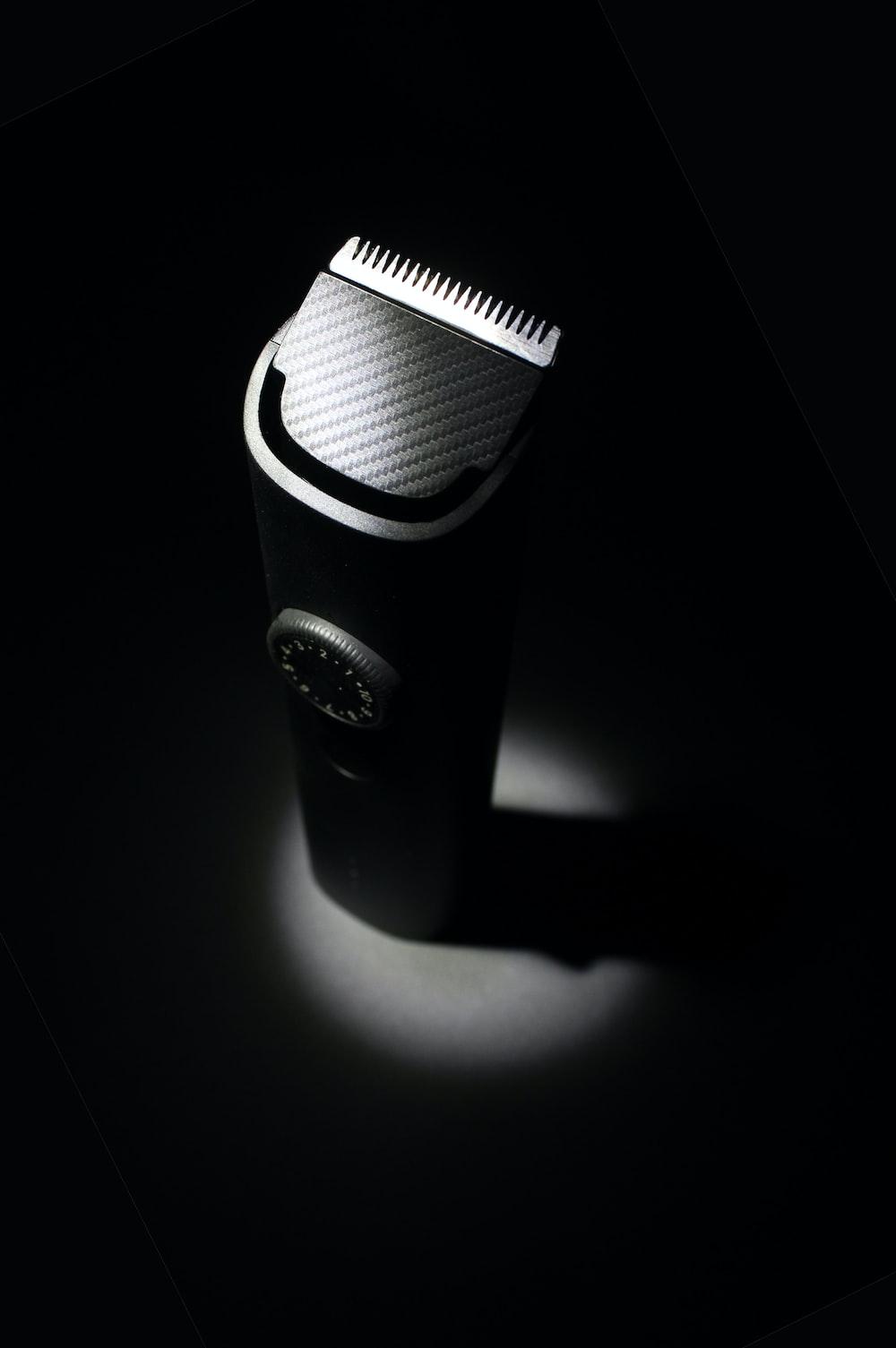 black and white camera lens