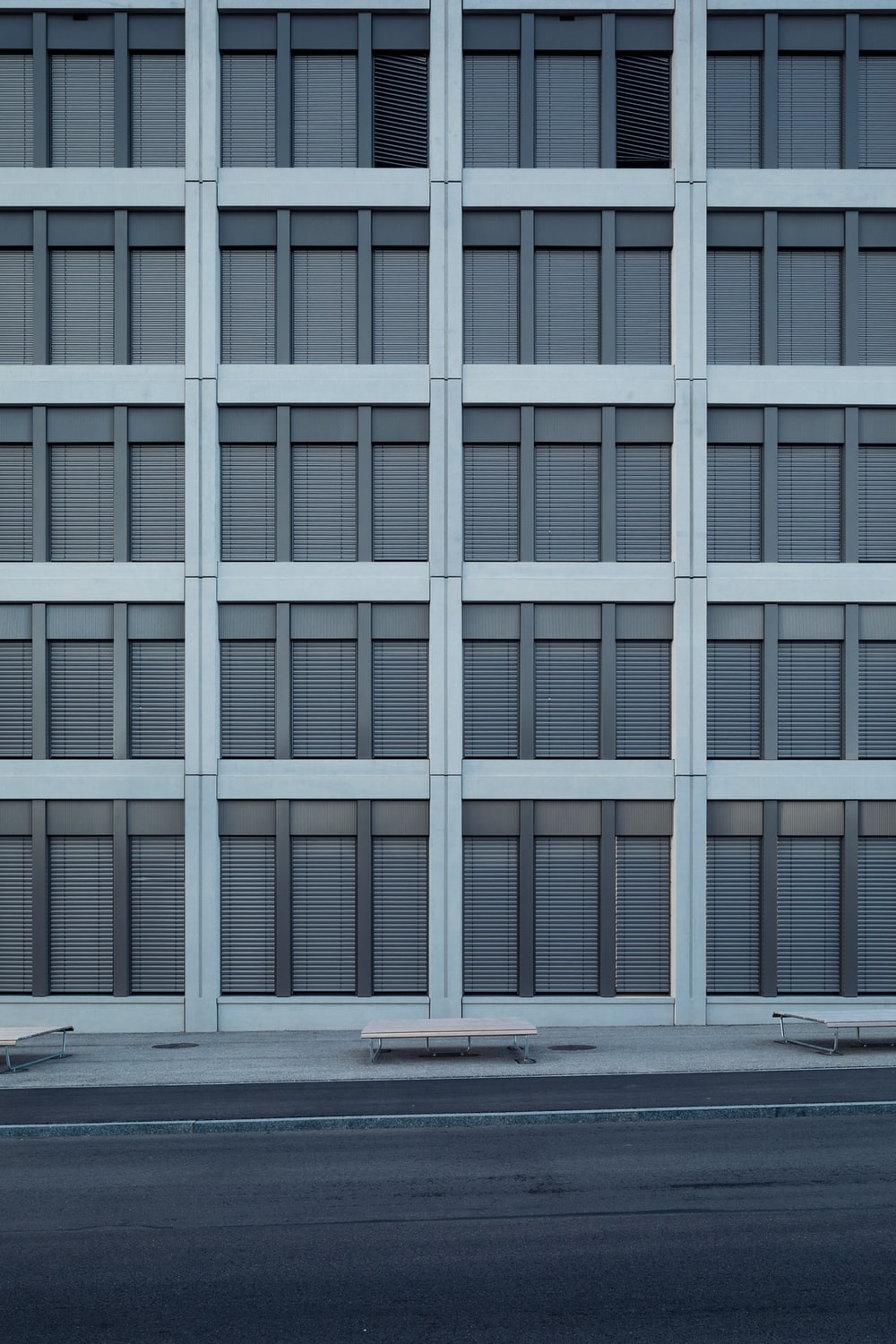 white and gray concrete building