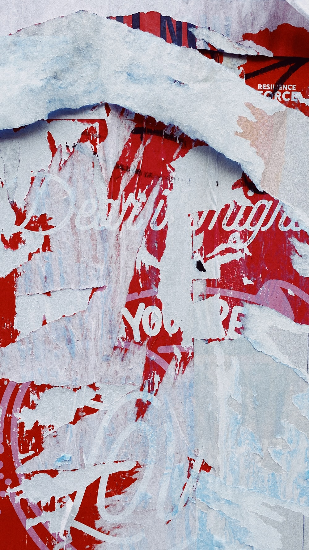 red and white love me wall art