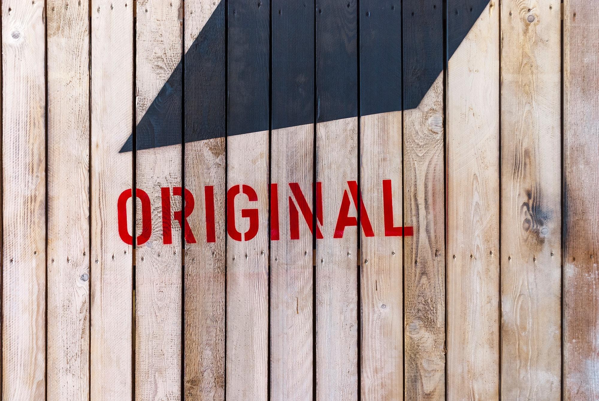 »Original«
