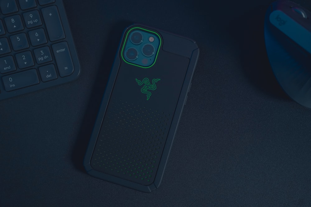 black and green iphone case