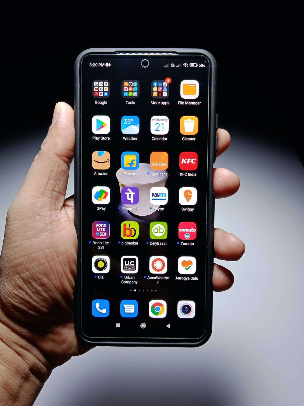 person holding black iphone 5