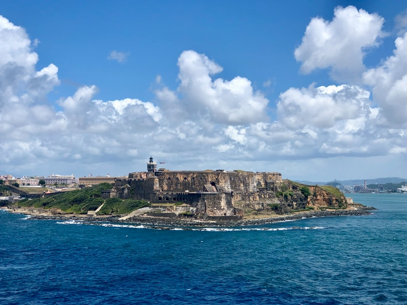 Coldest places in Puerto Rico by minimum mean temperature