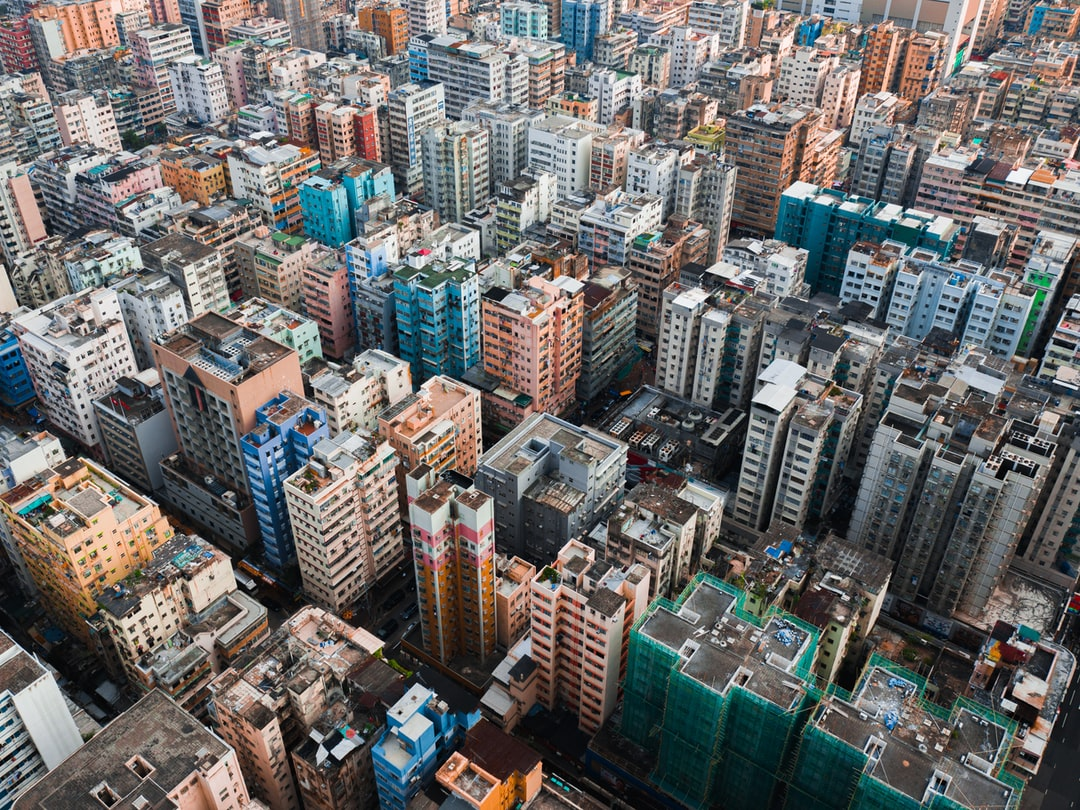 Aerial View of the Dense Urban Area of Hong Kong On A Sunny Day - unsplash
