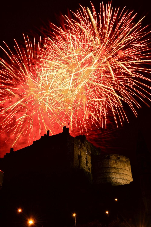 fireworks display during night time