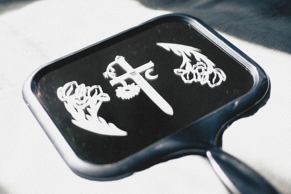 black and white eagle logo