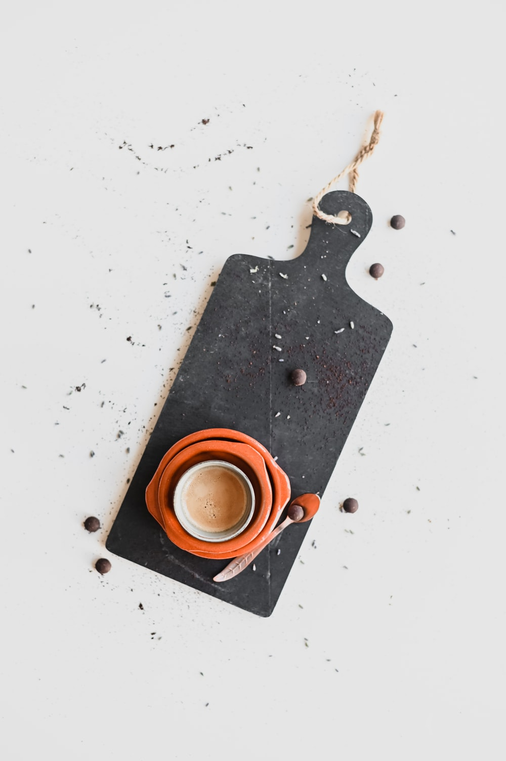 black and brown metal tool