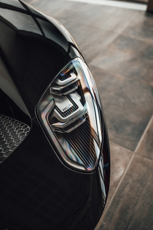 black and silver car door