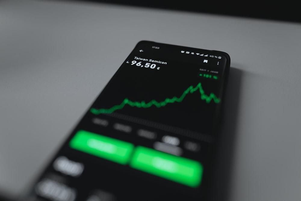 black and green remote control
