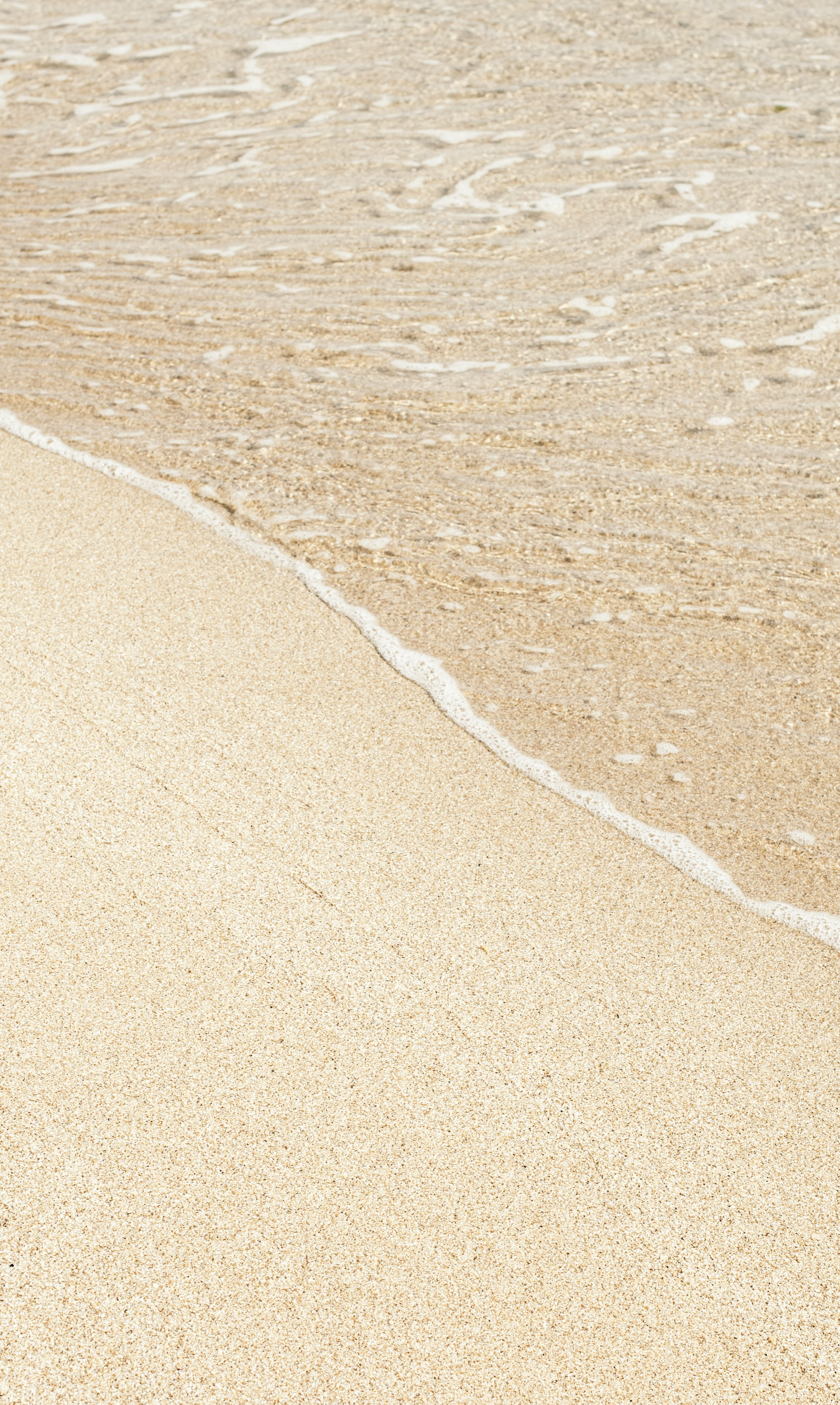 brown sand with white sand