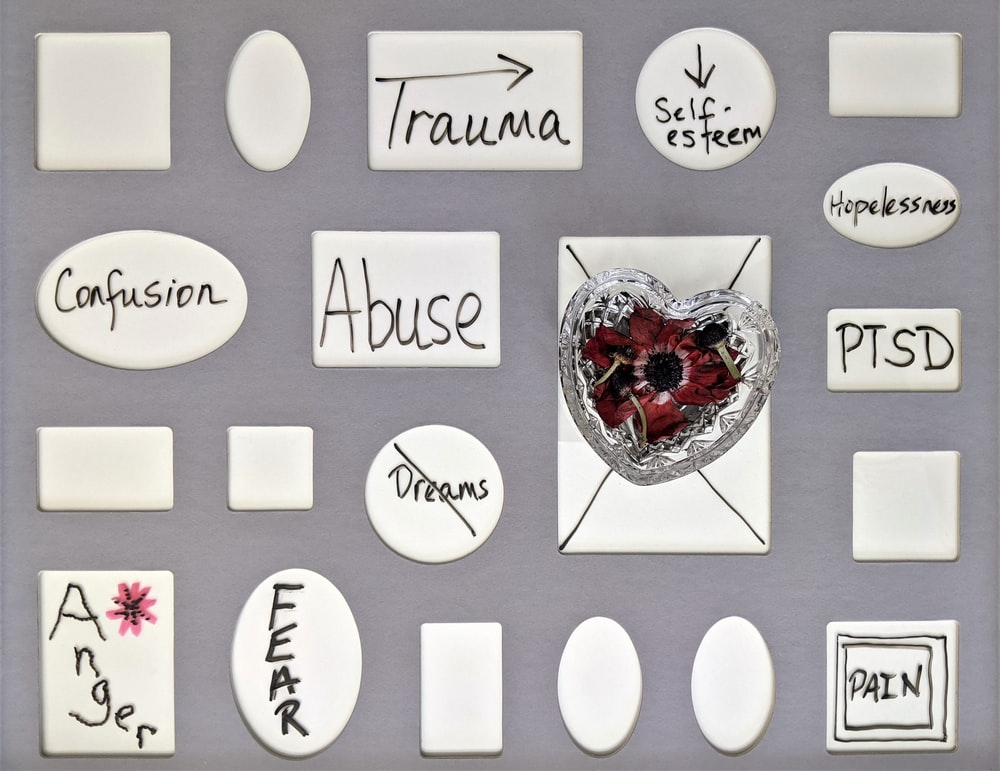trauma can take us away from the present moment