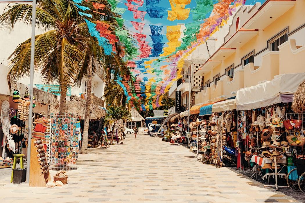 Playa del Carmen is just a short trip away for Tulum digital nomads