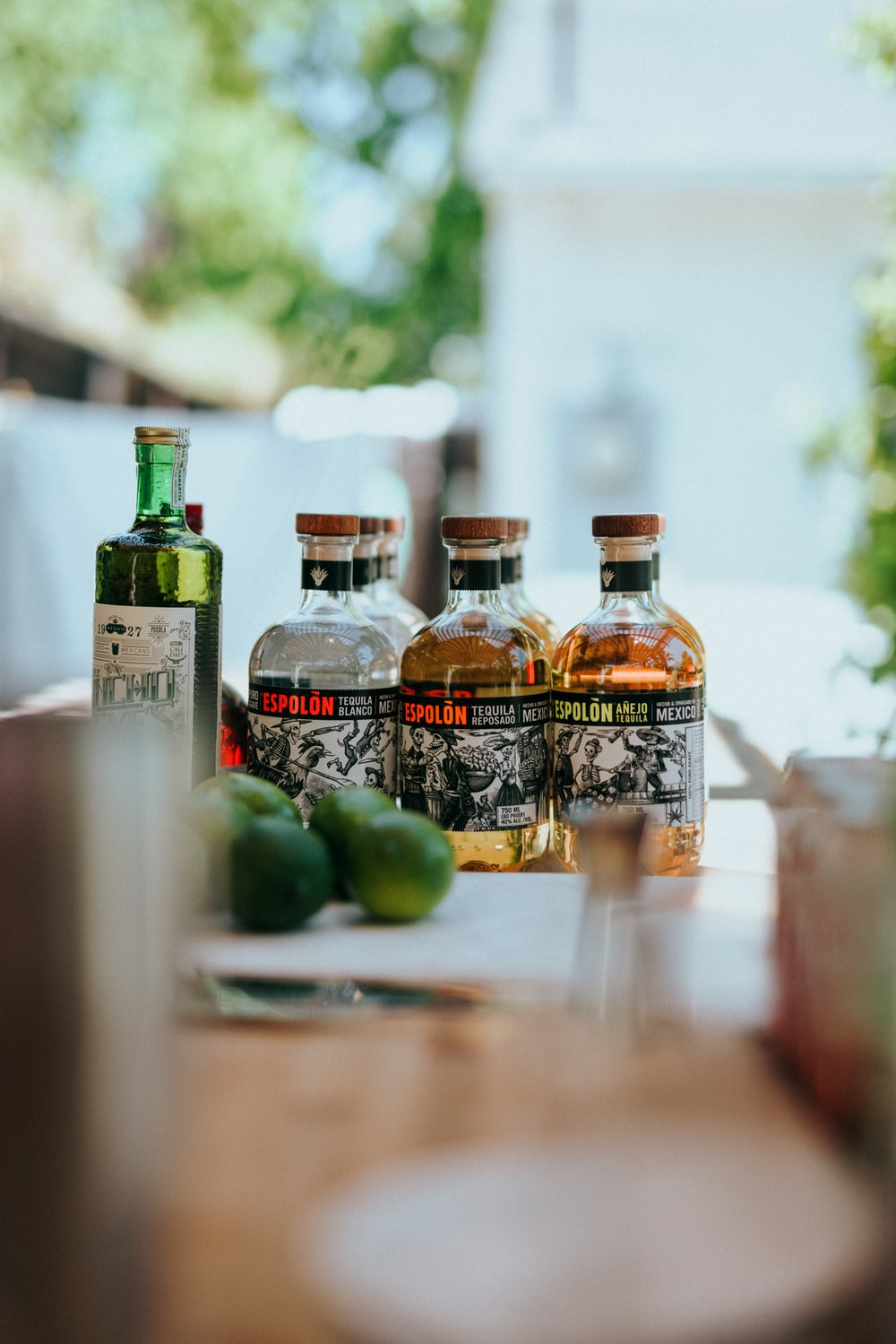 Espolòn Tequila bottles