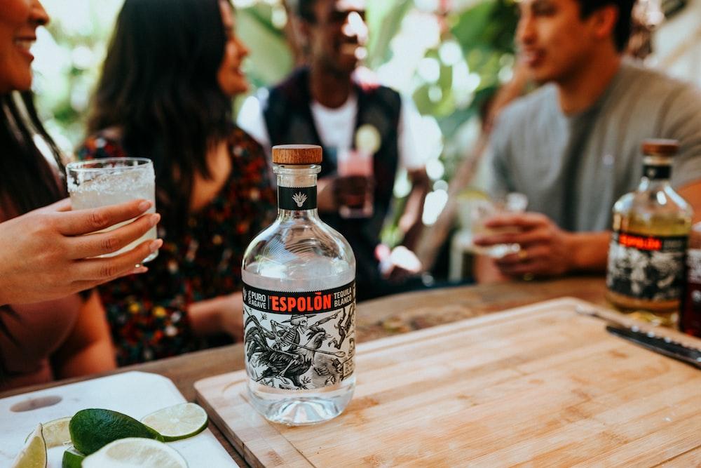 Espolòn Tequila tequila on bottle