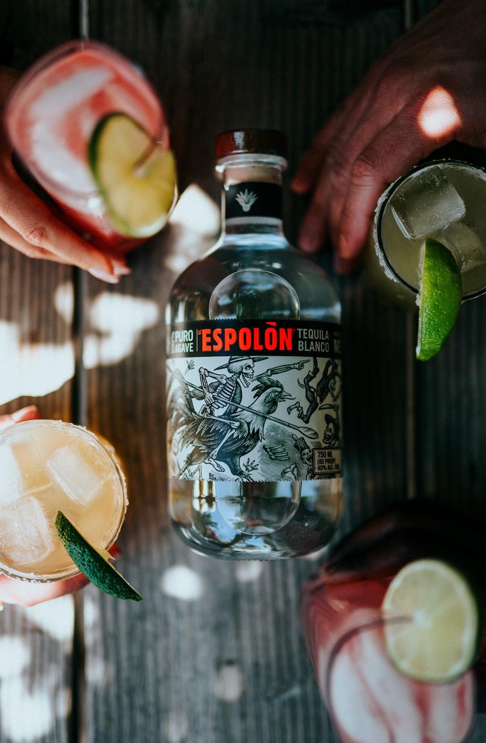 Espolòn Tequila bottle