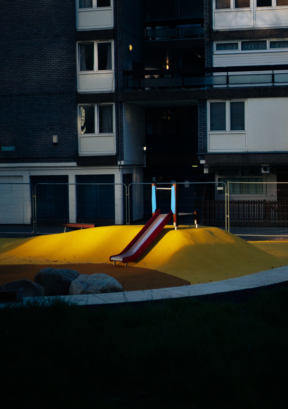 yellow and white inflatable pool