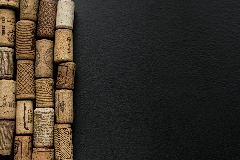 brown rope on black textile