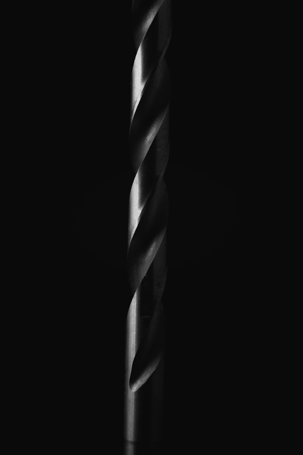 white and black striped candy cane