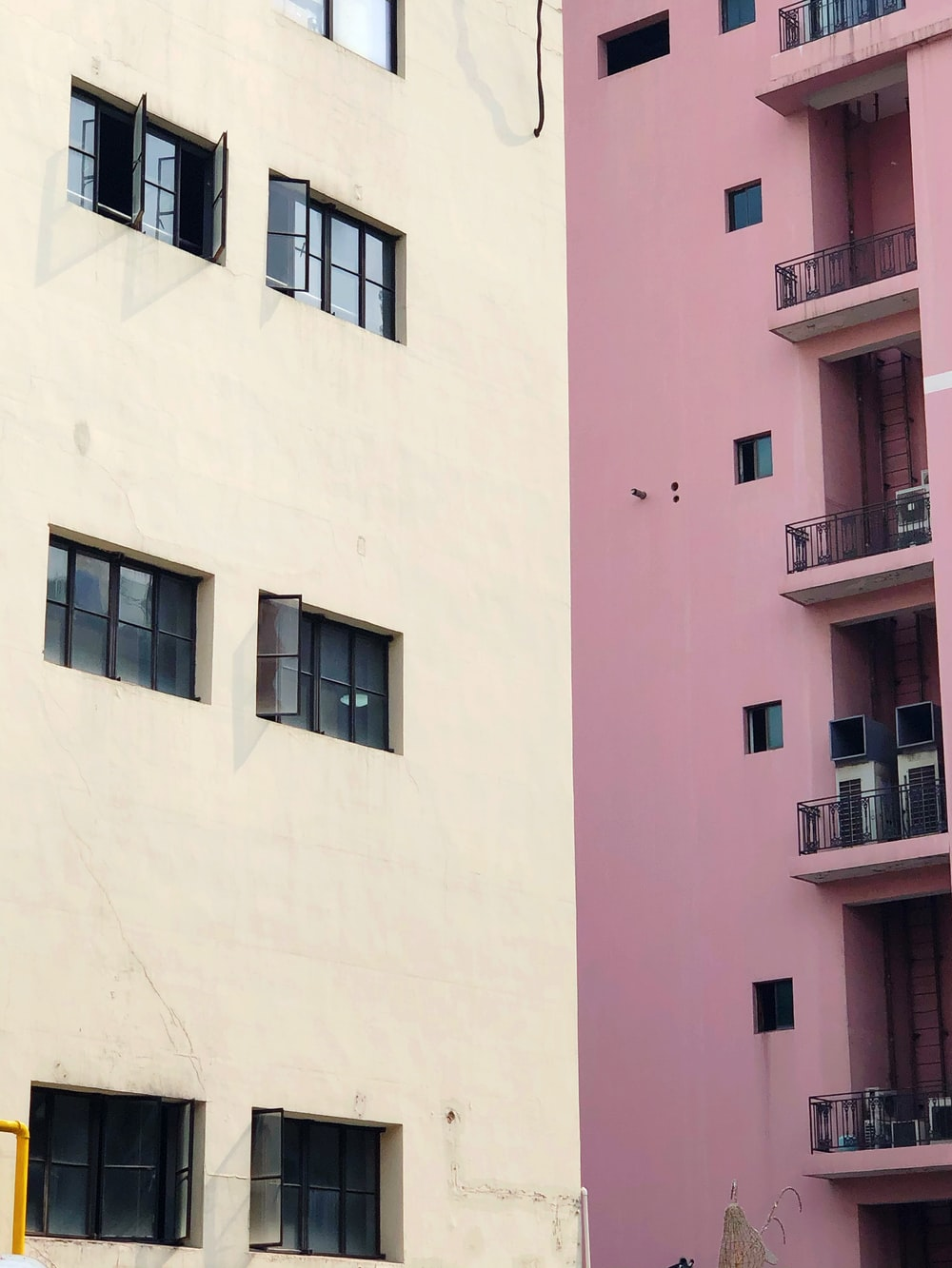pink concrete building during daytime
