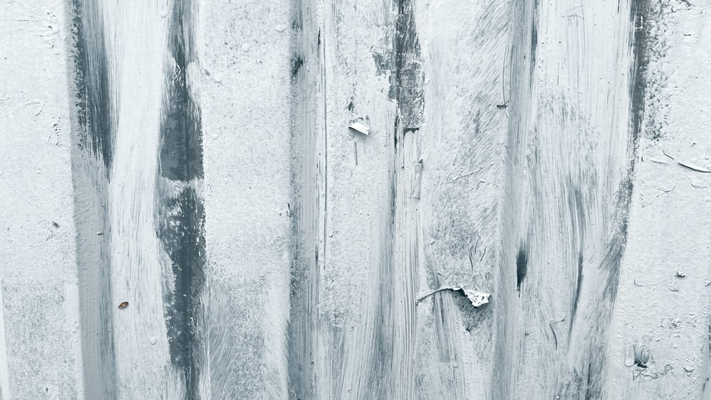 white and gray wooden board