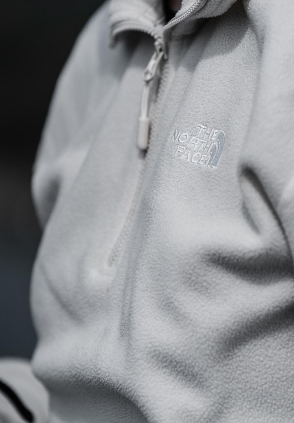 gray and blue adidas zip up jacket