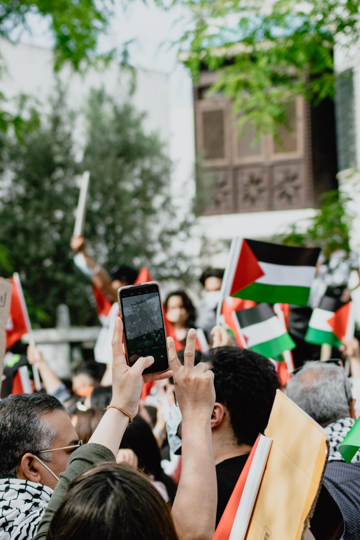 people gathering on street during daytime