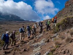 Kilimanjaro Besteigung - Machame 1790m - Machame Camp 3010m