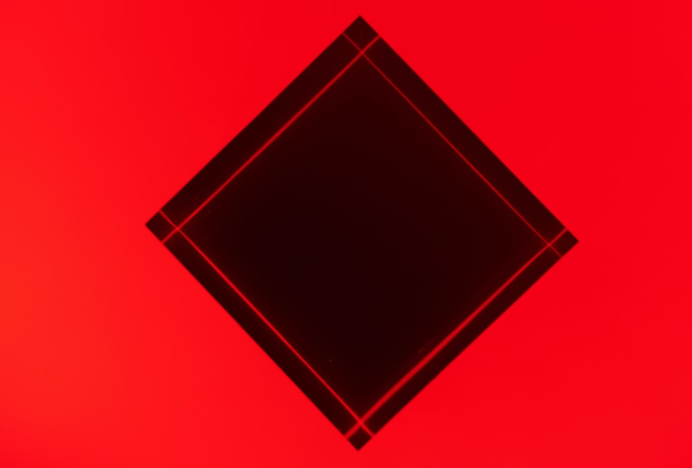 red and black square illustration