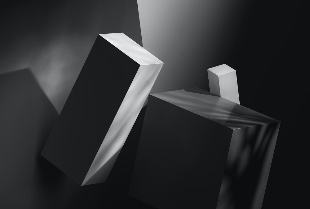 white and black wooden blocks