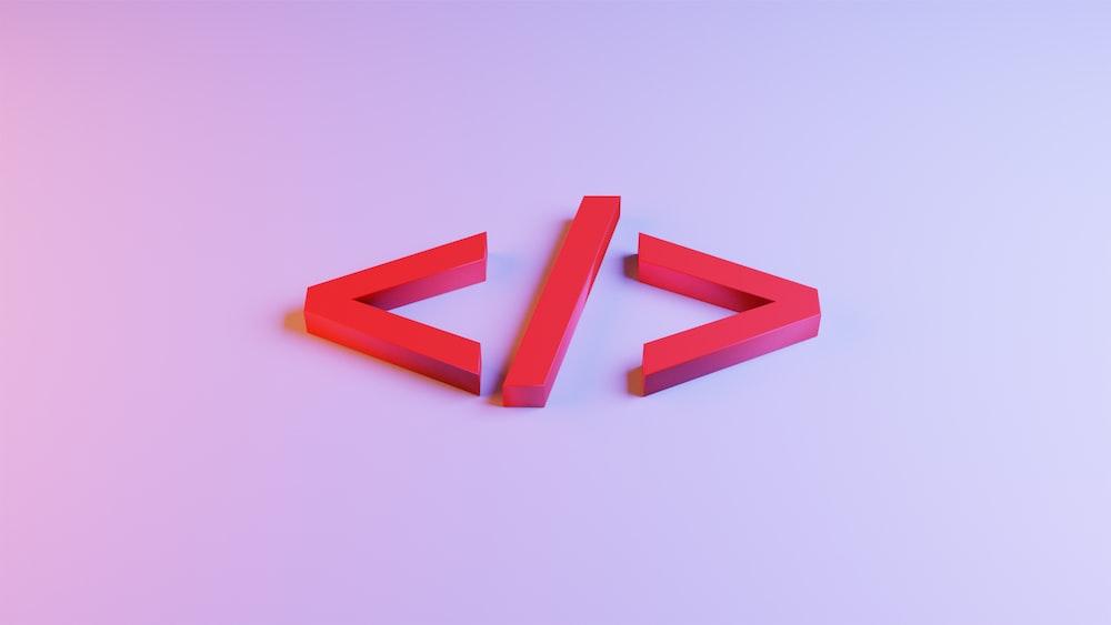 orange plastic blocks on white surface