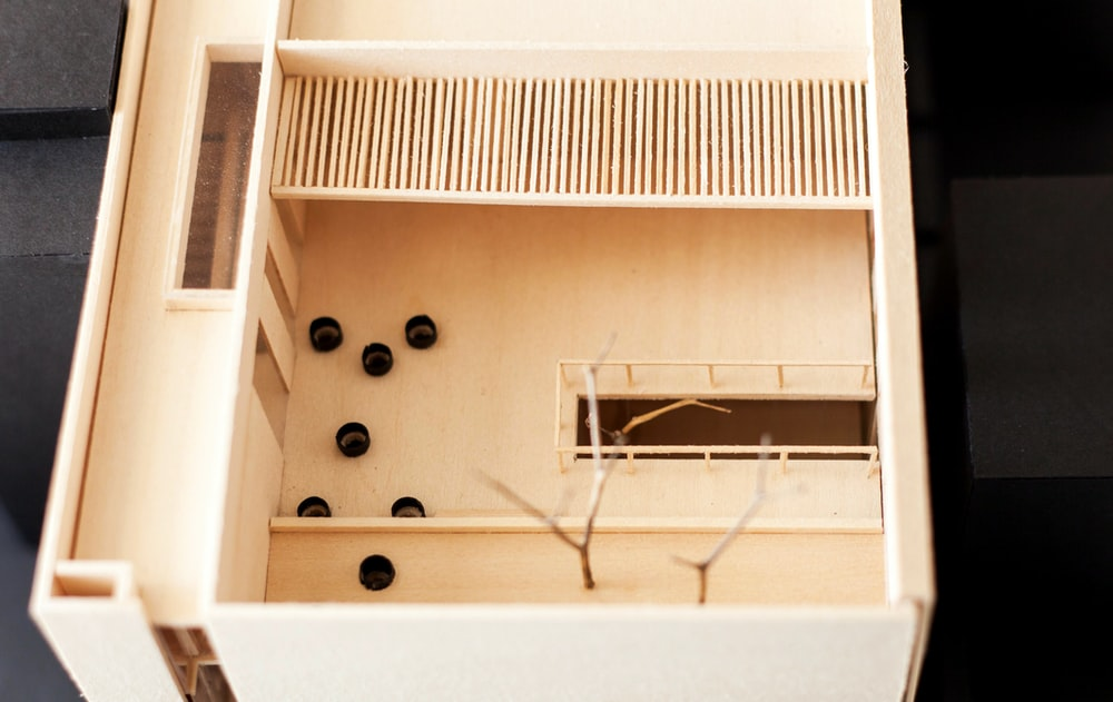 white wooden wall mounted rack