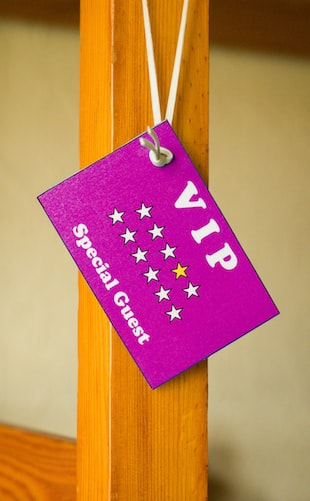 VIP offers as part of the event promotion definition