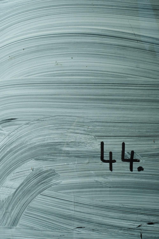 black letter b on white background