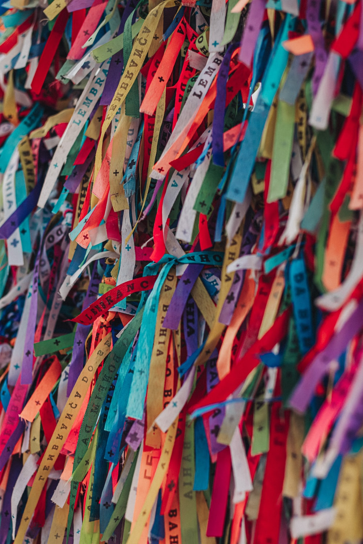 multi colored paper lantern lot