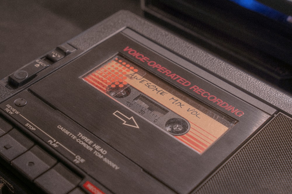 black and red game cartridge