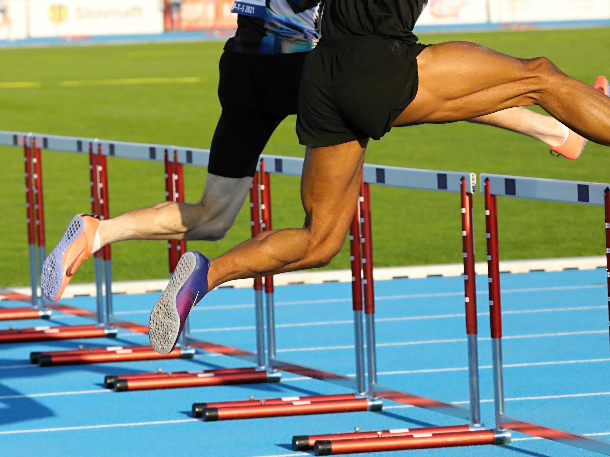 anatómia svalov šprintéra na 400 m prekážky