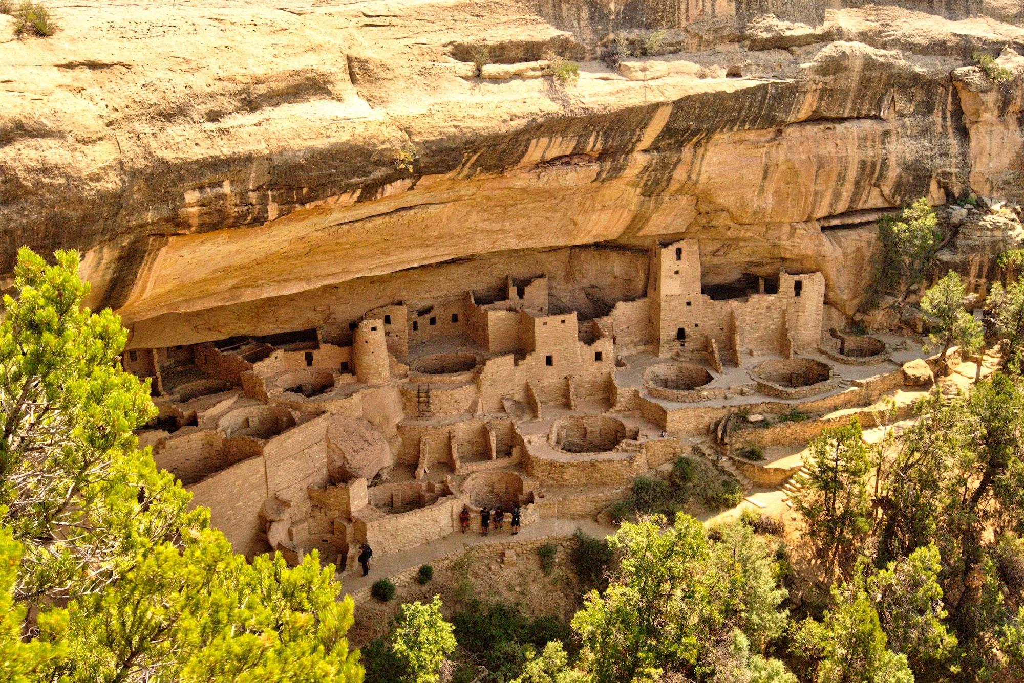 Fabulous Cliff Dwellings at Mesa Verde