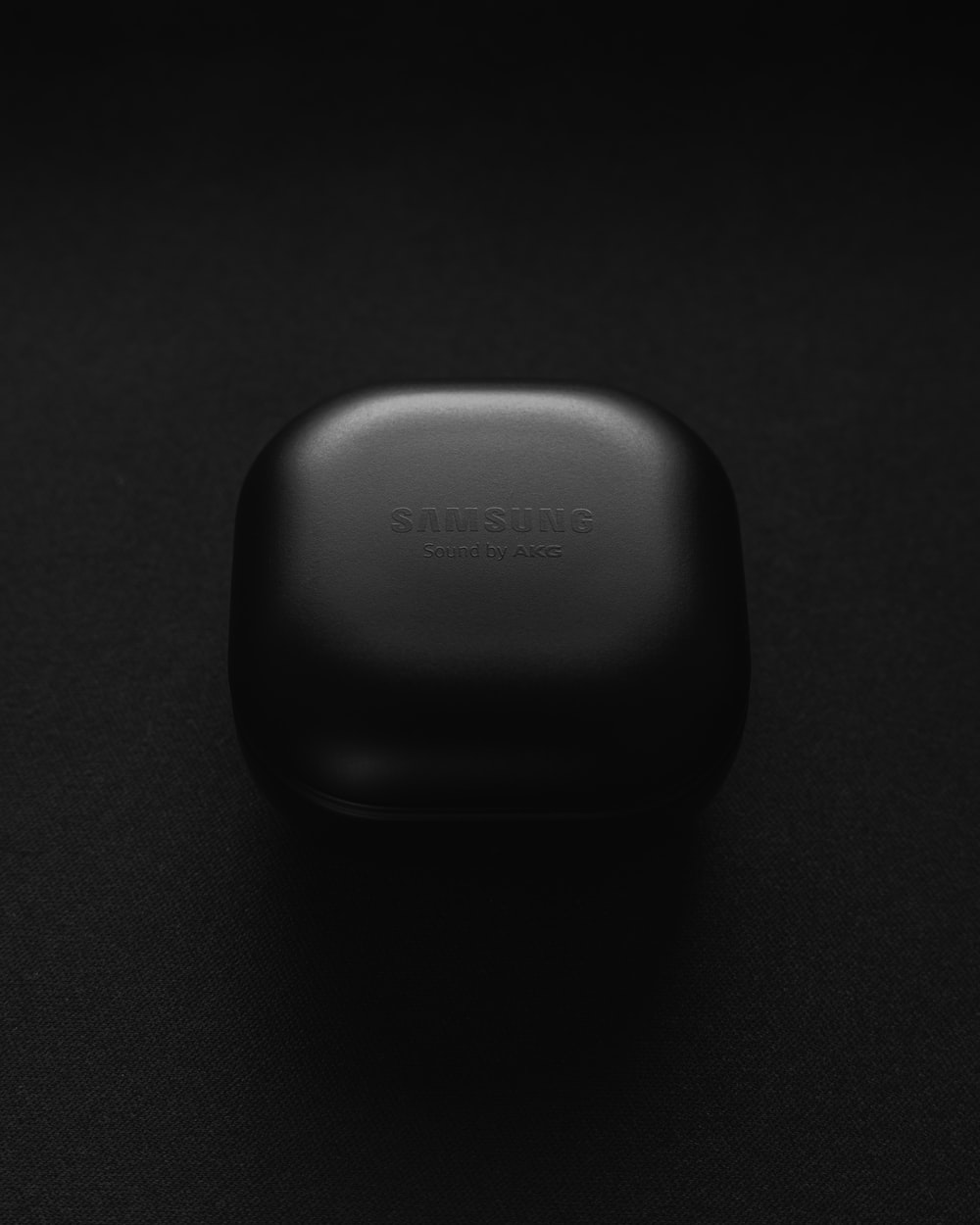 black and white plastic container