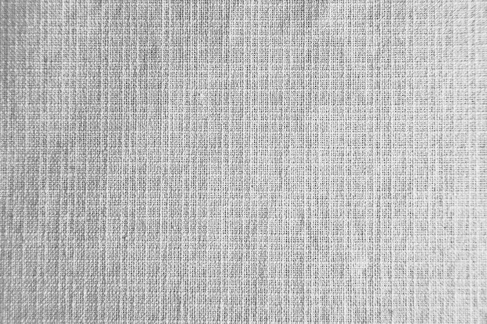 gray and black striped textile