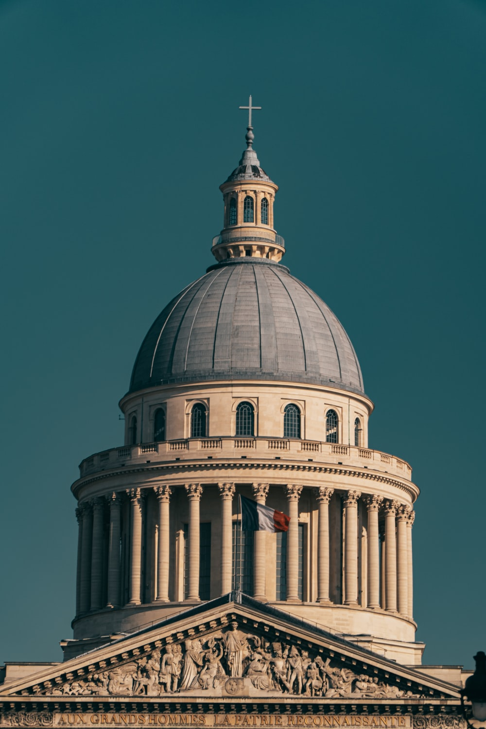 white and blue dome building under blue sky during daytime