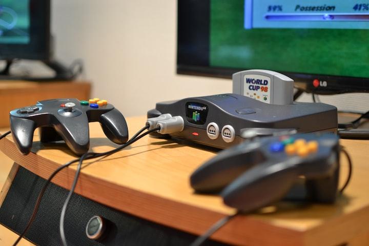 The Nintendo64 and Goldeneye
