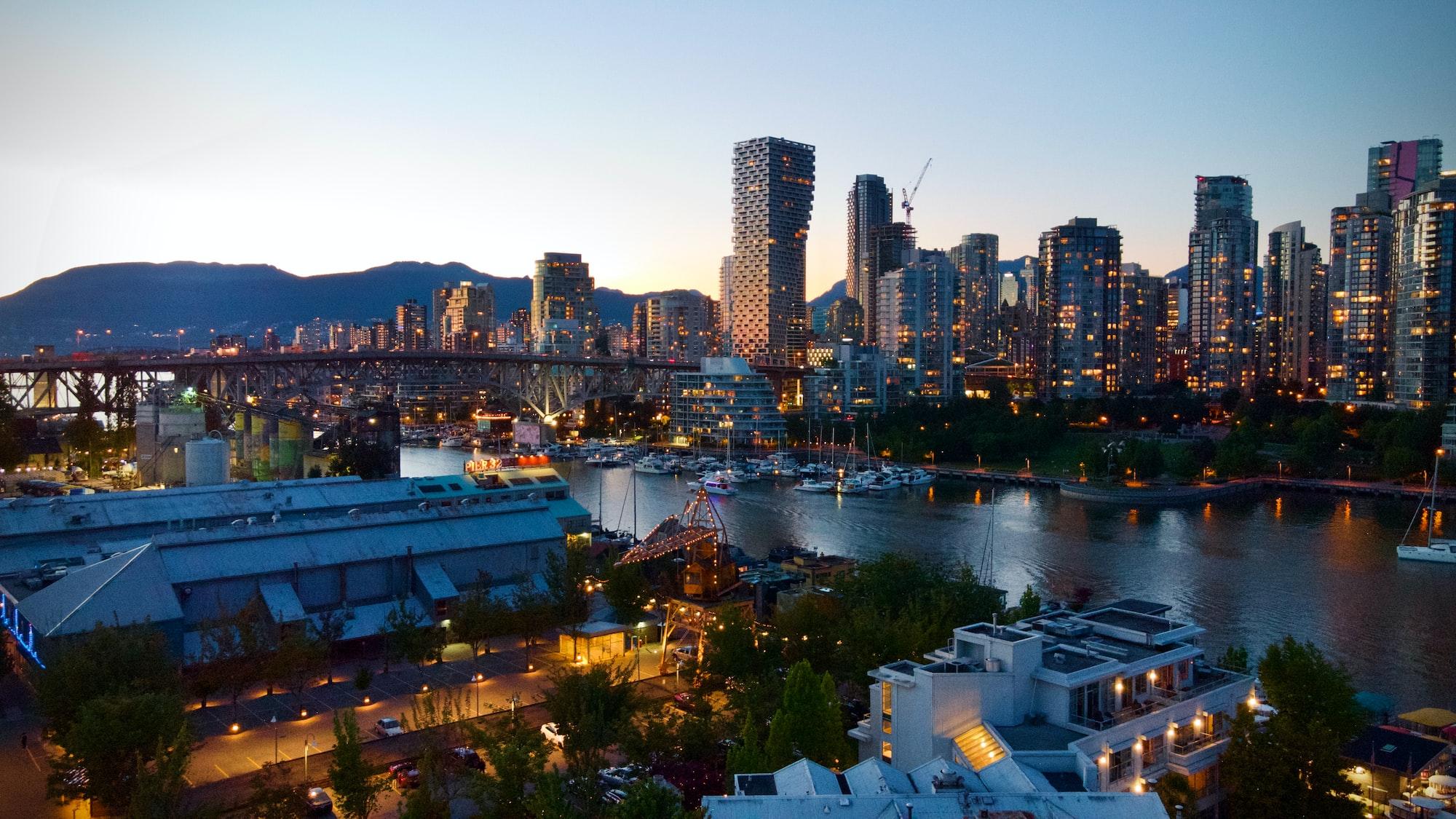 Vancouver false creek.