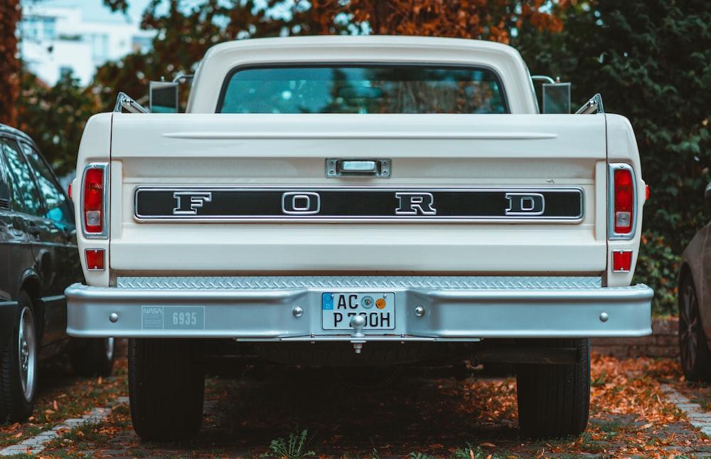 white chevrolet single cab pickup truck