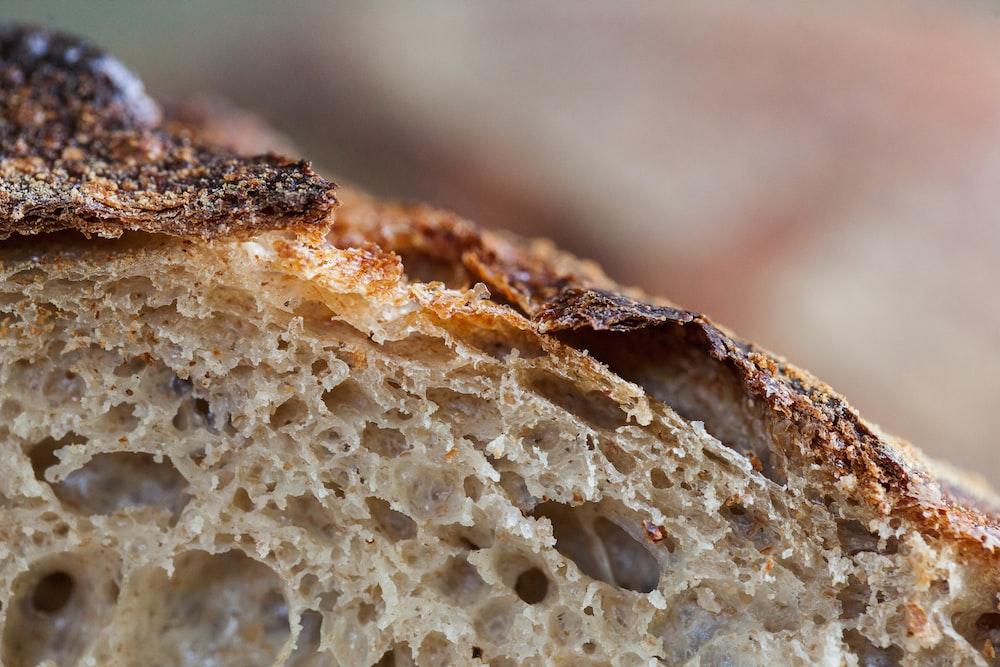 brown bread with white sugar