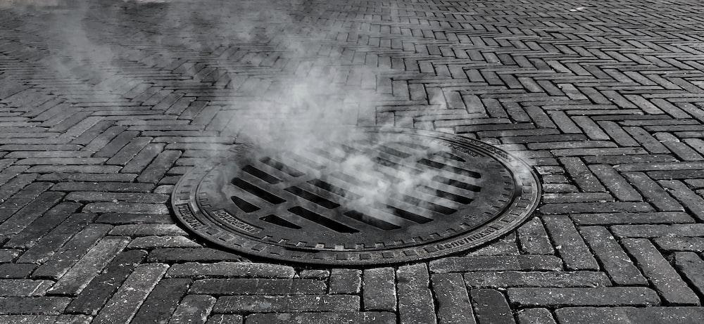 grey concrete brick floor during daytime