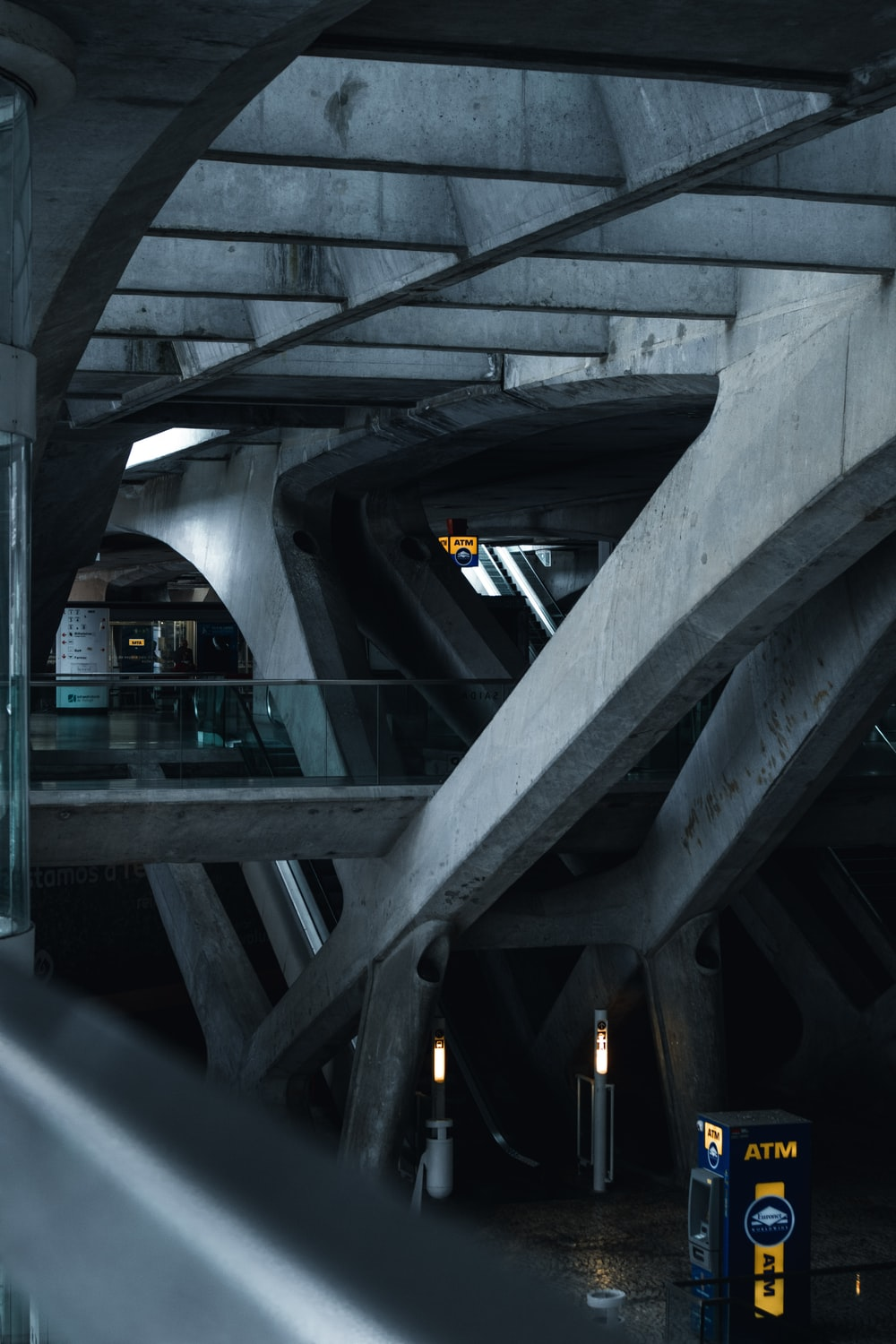 gray concrete tunnel during daytime